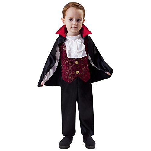 Totally Ghoul Lil' Vampire Costume, Toddler Size 4-6 Years (Lil Vampire Costume)