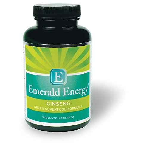 Emerald Energy® Ginseng: Superior Green Superfood Formula (1 Pound) by EMERALD ENERGY