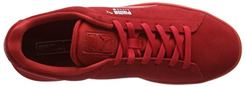 Baskets Mixte Basses Rouge Silv Suede Adulte Puma S6 S Red Red tSg7XqB