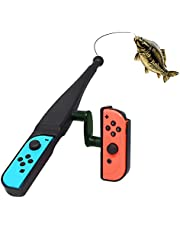 Hengel voor Nintendo Switch Joy Con Controller - LYCEBELL Switch Fishing Game Controller Compatibel met Nintendo Switch Legendary Fishing, Fishing Star World Tour, Bass Pro Shops