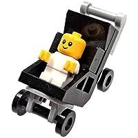 LEGO Town City Fun en el parque Minifigura–Baby y carriola (60134)
