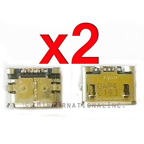 ePartSolution-2 X Sony Ericsson Xperia X10i Charger Charging Port Dock Connector USB Port Repair Part USA (Sony Ericsson Dock)