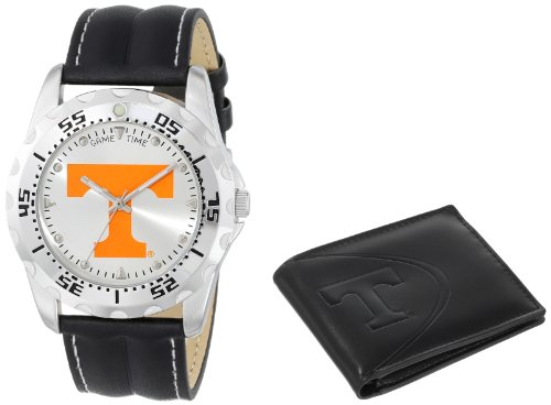 """Game Time Men's COL-WWS-TEN """"Watch & Wallet"""" Watch - Tennessee"""