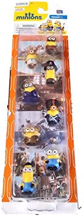 Minions Movie, Exclusive 8-Piece Minion Gift Set, 1-Inch Figures: Amazon.es: Juguetes y juegos