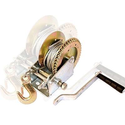 Heavy Duty Hand Winch 2000LB Hand Winch Wheel Crank