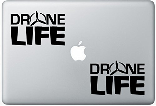 Drone Life LeporeDecals3052 Set Of Two  , Decal , Sticker ,
