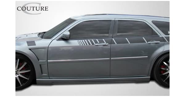 Amazon Com Couture Replacement For 2005 2010 Dodge Magnum Chrysler 300 300c Urethane Luxe Side Skirts Rocker Panels 2 Piece Automotive