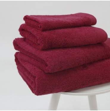 10XDIEZ Toalla algodón Pima 600 gr/m2 borgoña - Medidas Toallas ...