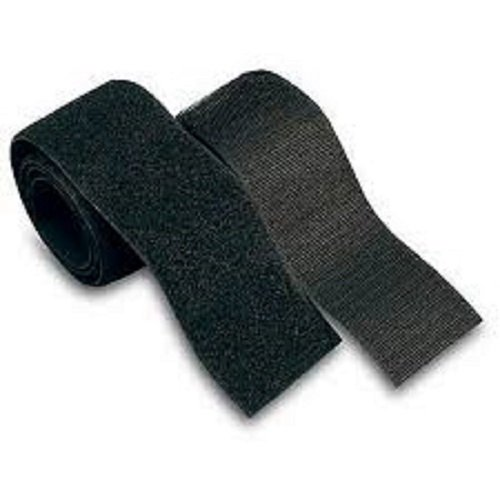 1 Yard of 4'' Inch Wide Black Sew-on Hook and Loop by 7 Degrees North