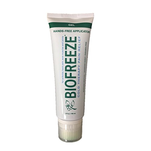 Biofreeze Pain Relief Gel, 4 oz. Tube with Hands-Free Applicator (Biofreeze Ounce Tube 4)