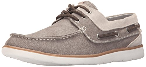 Gbx Mens East Boat Shoe Taupe