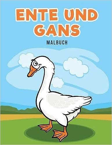 Ente und Gans Malbuch