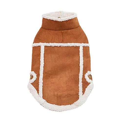 RSHSJCZZY Pet Winter Costumes Puppy Turtleneck Sweater Two-Legged Apparel Traction Hole Clothes -