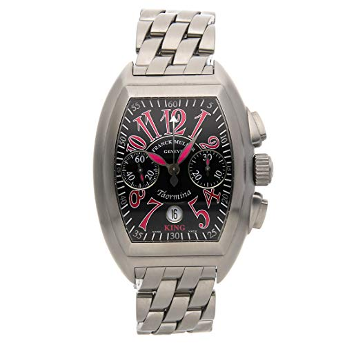 - Franck Muller Conquistador Mechanical (Automatic) Black Dial Mens Watch 8005 CC King (Certified Pre-Owned)
