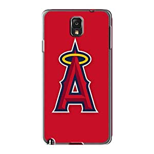 Scratch Protection Cell-phone Hard Covers For Samsung Galaxy Note 3 (ors26187MKBX) Unique Design Attractive Baseball Los Angeles Angels 2 Pattern