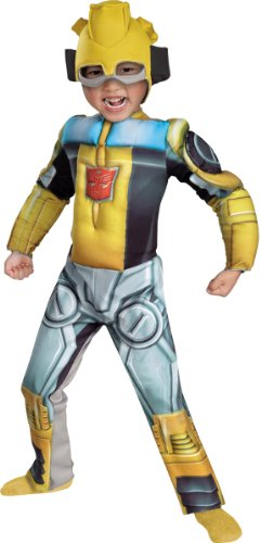 WMU 1171244 Bumblebee Rescue Bot Muscle 3T Toddler Costumes]()