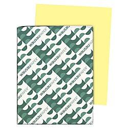 """Exact Index Cardstock, 8.5"""" x 11"""", 90lb/163gsm, Canary, 250 Sheet ()"""