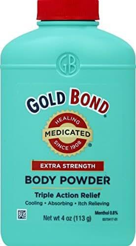 Body Powder: Gold Bond Extra Strength