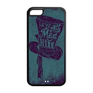 diy phone case5C Phone Cases, We are All Mad Here Hard Cover Case for ipod touch 4 Designed by HnW Accessoriesdiy phone case