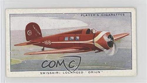 "Swissair: Lockheed""""Orion"""" (Trading Card) 1936 Player"