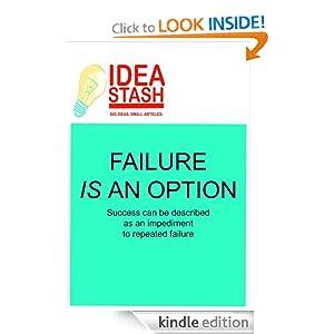 Failure is an Option (Article) Scott H. Lewis