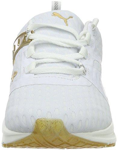 de Puma 01 Puma XT Zapatillas Weiß para Running White Mujer V2 Bianco Ignite gold qrIOxw5rv