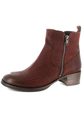 FIDJI bottines pour femme marron-chaussures en matelas grande taille