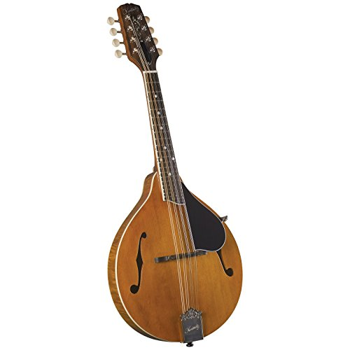 Kentucky KM-252 Artist A-model Mandolin - Transparent Amber by Kentucky