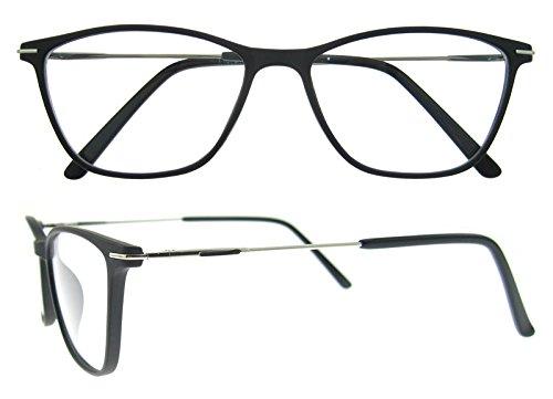 Eyewear Frames-OCCI CHIARI-Rectangular Eyeglasses Frame with Clear ...