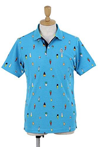 マンシングウェア ゴルフウェア ポロシャツ 半袖 DCSクーリング MGMLJA22 BL00 M