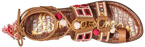 De Gladiador Edelman pink Sandalias multi Golden Caramel La Gretchen Mujer Sam RFwfER