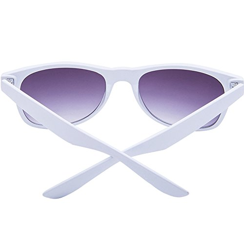 Acxico Colorful Spectacle Frames Large Exaggerated Sunglass - White Spectacle Frames