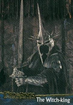 The Witch-king - Nazgul trading card (The Lord Of The Rings, Return of the King) 2003 Topps (Nazgul Witch King)