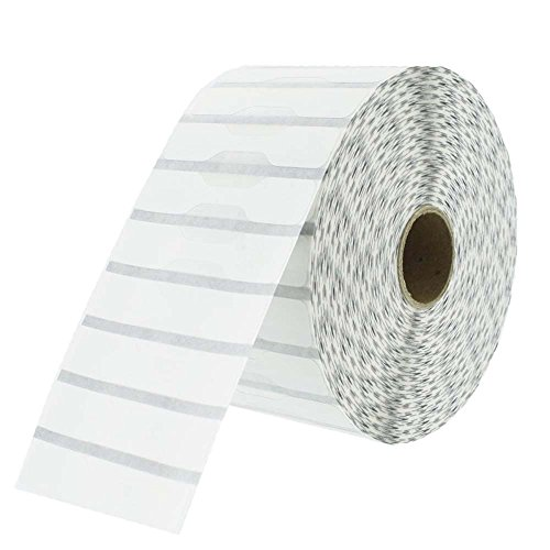 Zebra Compatible 10010064 Jewelry Labels - Barbell Style, 3510 Labels Per Roll - 1 Roll Per Package