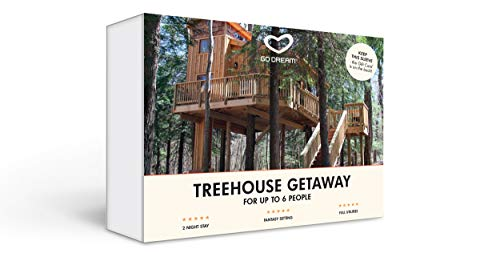 Treehouse Getaway, 2 Nights Experience Gift Card NYC - GO DREAM - Sent in a Gift Package ()