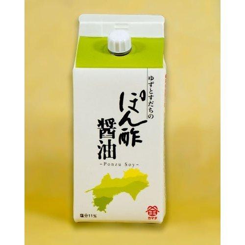 Kamada soy sauce Ponzu soy sauce (citron, sudachi fruit juice) 200ml