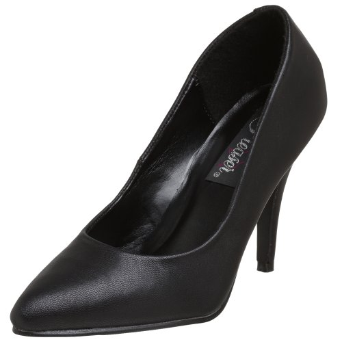 Pump Black Vanity Leather Pleaser Women's 6BRwqnE