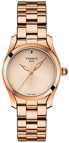 Tissot T112.210.33.451.00 Rose Gold 30mm Stainless Steel T-Wave II Women's Watch