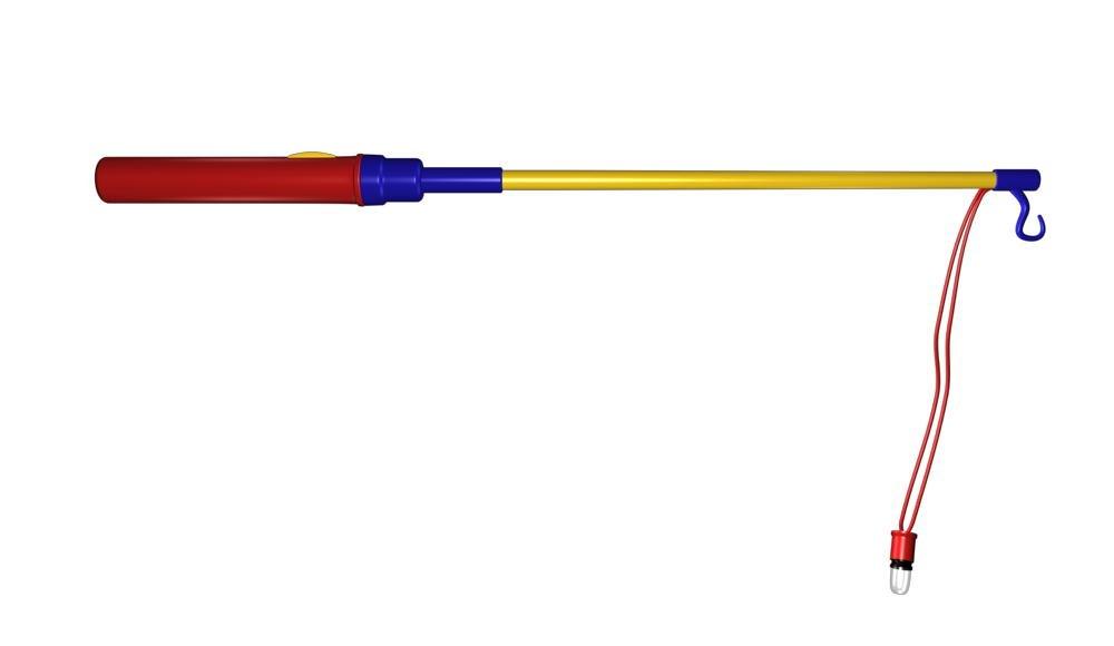 LED- Laternenstab / Lampionstab 50 cm - Stab fü r Lampion - Laternelauf Luxtor