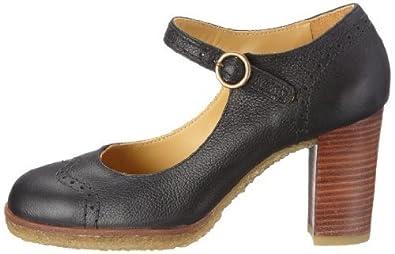 3eb43fc6b33d clarks originals ladies kitzi girl black leather shoes uk size 4