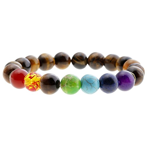 Natural Stretch Bracelet Meditation Protection