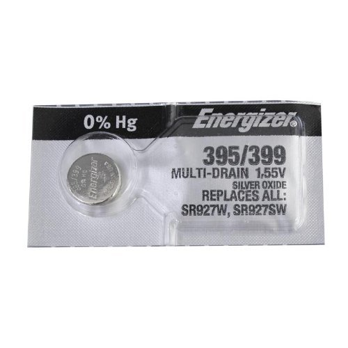 Energizer 395-399TS BUTTON CELL BATTERY 399 OXIDE ()