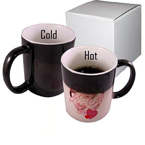 - EXPRESS 11oz Black Color Changing personalized Mug