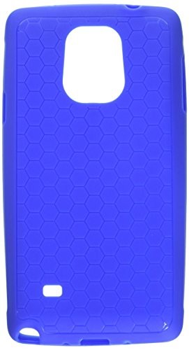 Samsung Galaxy Note 4 Extended Battery Case. Hyperion Samsung Galaxy Note 4 Extended Battery HoneyComb TPU Case / Cover (Fits Hyperion 8000mAh Extended Battery)) [2 Year No Hassle Warranty] (CASE ONLY. Does not include battery) **Hyperion Retail Packaging** - BLUE