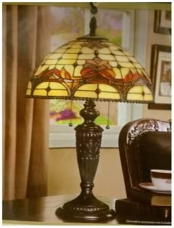 Table Lamp with 15.75 Inch Diameter Shade