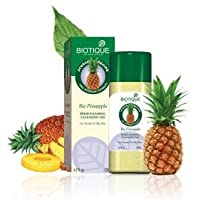 Biotique Pineapple Fruit Enzyme Cleanser (Combo/Oily Skin) 120 ml by Biotique