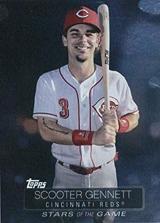 07abc90fceb 2019 Topps Stars of the Game Baseball  SSB-42 Scooter Gennett Cincinnati  Reds Baseball