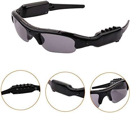 ChenYongPing Polarisierte Sport-Sonnenbrille 1080P Full HD-Video-Aufnahmekamera polarisierte UV400-Schutz-Sicherheitslinse, Unisex-Sport-Design-Bluetooth-Sonnenbrille im Freiensport Radfahren Brillen