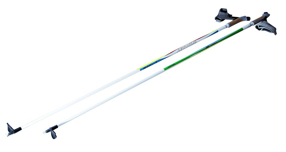 WINGET 100% Carbon Fiber Cross X Country Ski Poles XC-100 160cm by WINGET