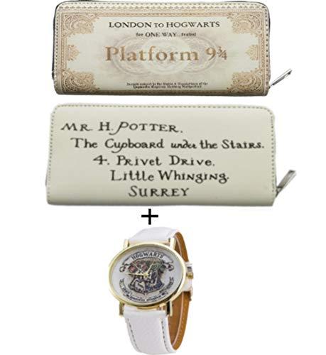Teaspen Harry Potter Wallet Hogwarts Train Ticket With Free Hogwarts ()